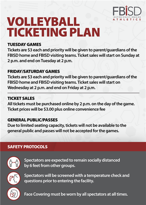 Volleyball Ticketing Plan