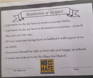 Resolution of Respect