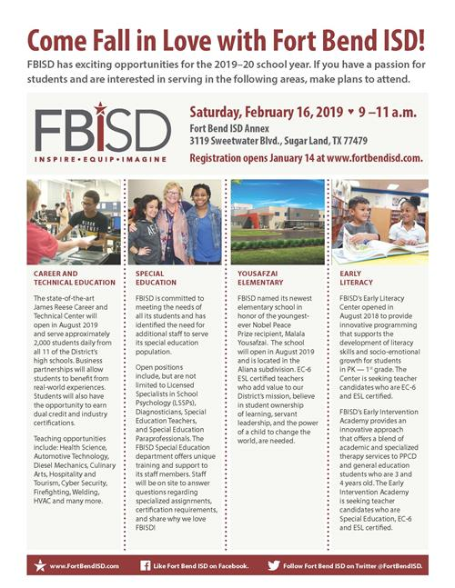 Fall in Love with FBISD