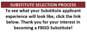 Substitute Selection Process