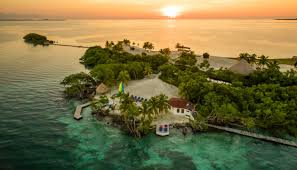 aerial photo royal belize