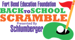 Back to School Scramble Logo