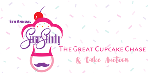The Great Cupcake Chase and Cake Auction logo