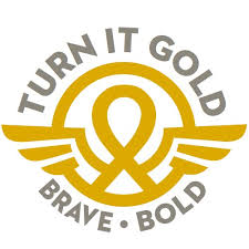 turn it gold for childhood cancer