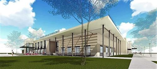 James Reese Career and Technical Center Rendering