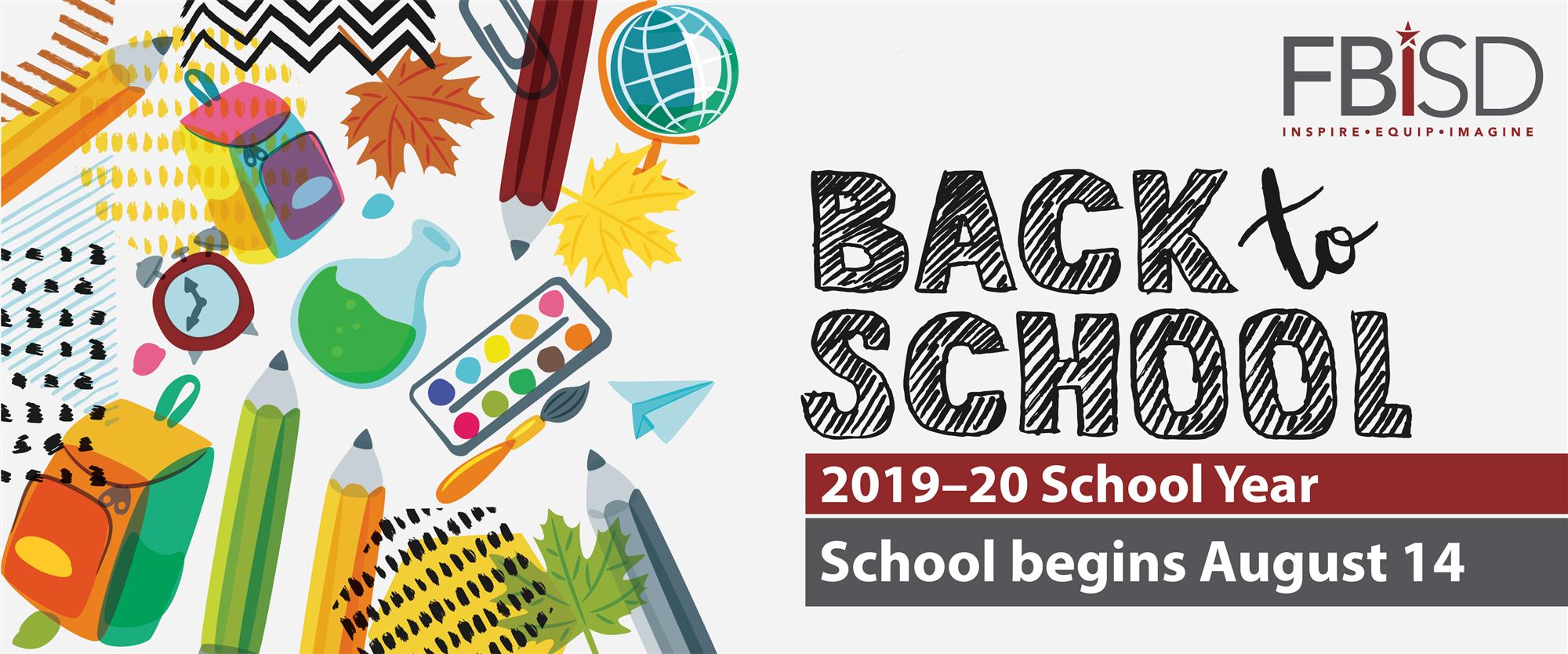 Fort Bend Isd Calendar 2020-21 Back to School / Back to School