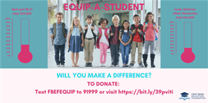 Fort Bend Education Foundation Launches Equip-A-Student Campaign