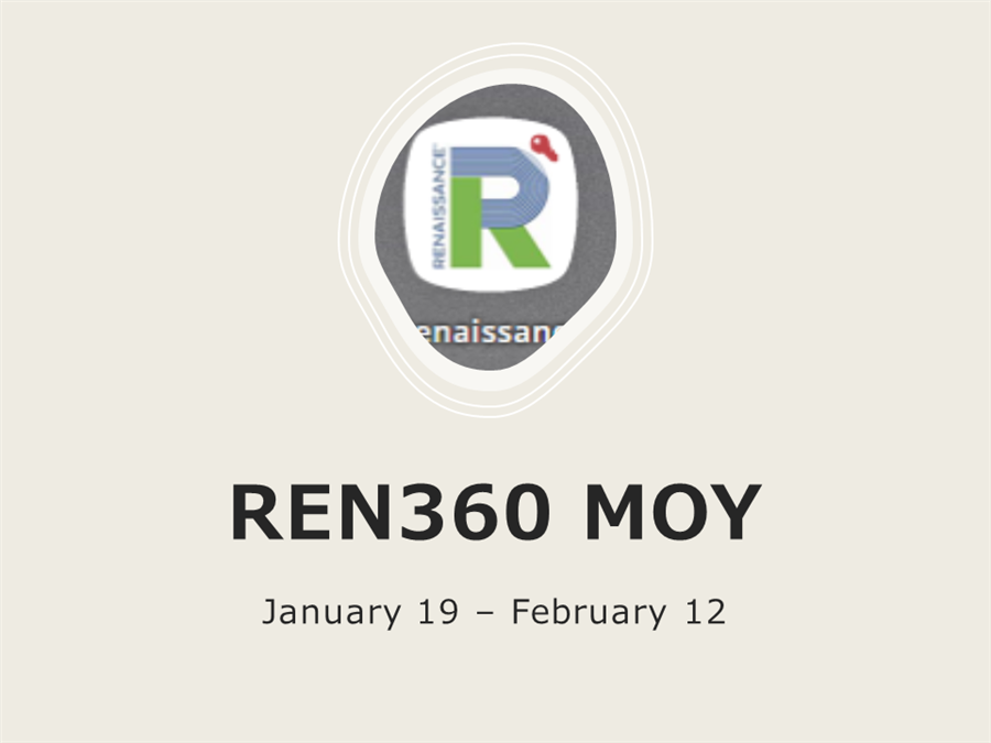 REN360 Middle of the Year Assessments - Jan 19 - Feb 12