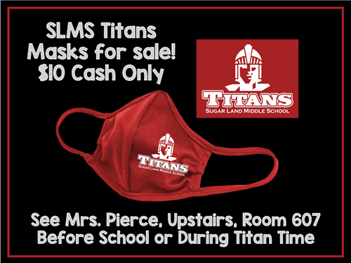 SLMS Titans Face Masks for Sale
