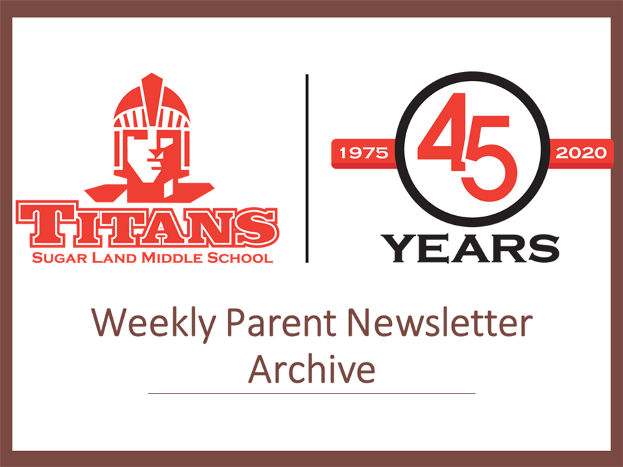 Archive of Past Newsletters & Communications
