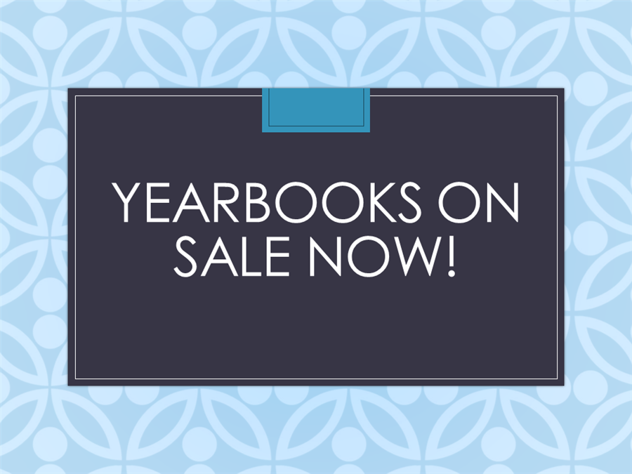 Yearbook Sales - $40