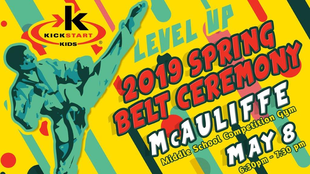 2019 Spring Belt Ceremony