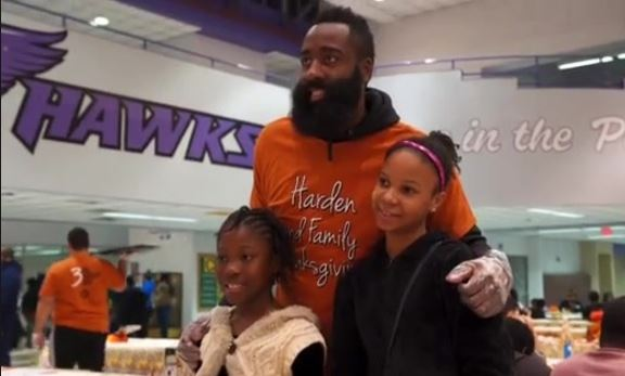 NBA Star James Harden Visits CMMS