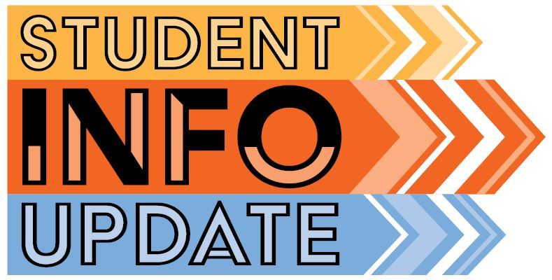 Update Student Registration Information