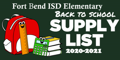 School Supply List 2020-2021(please click here)
