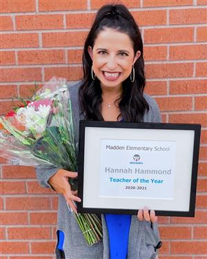 teacher of the year mrs. hammond