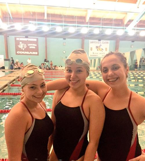 THS IBMA JV Swimmers Making Waves!