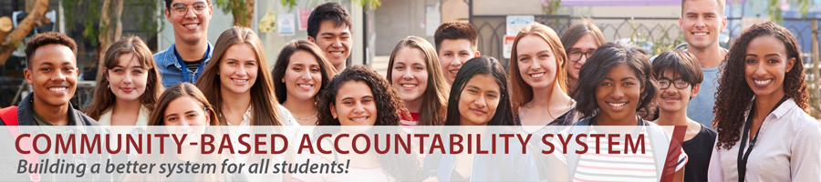Community Based Accountability System (CBAS) Title Banner