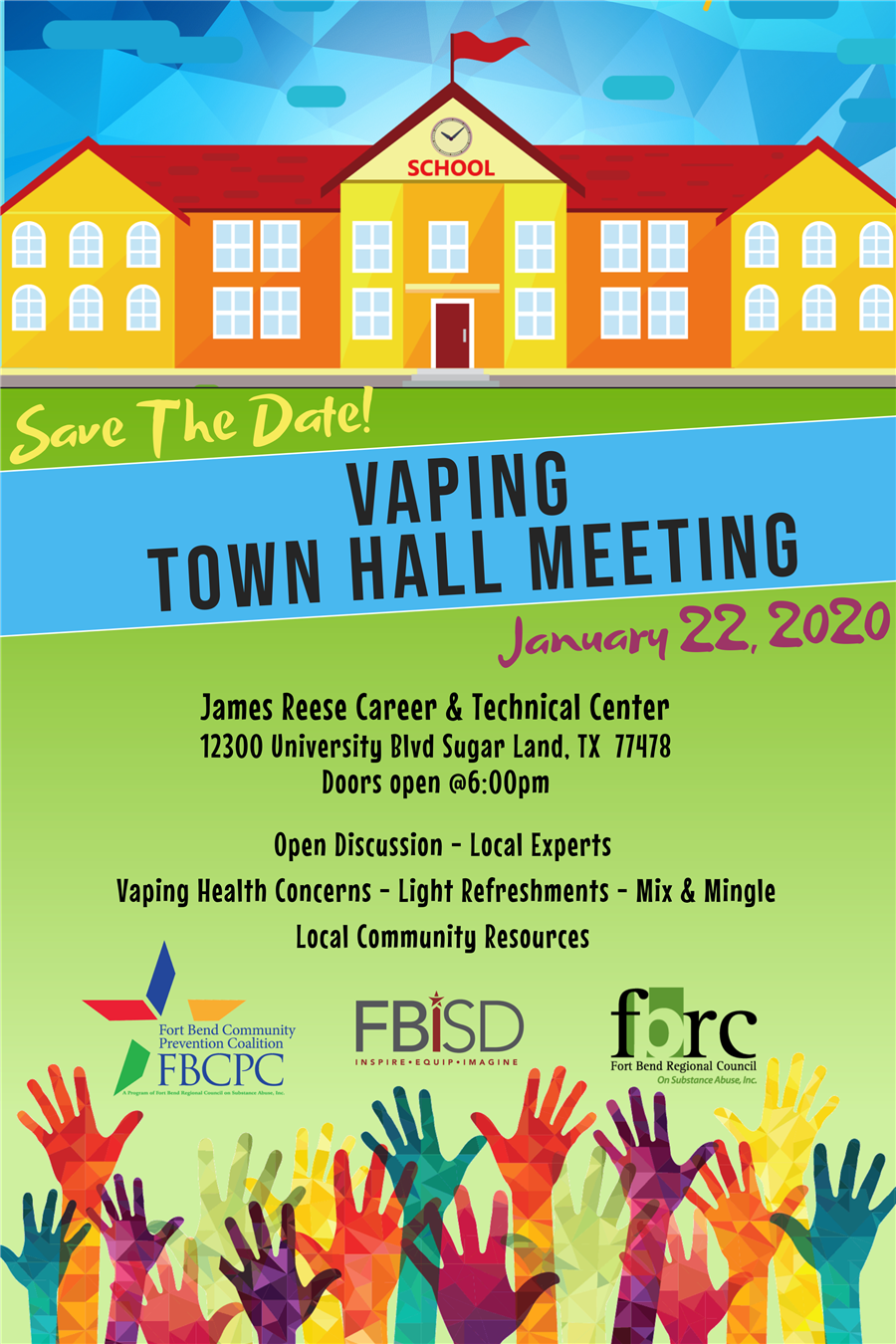 FBISD Vaping Town Hall Meeting