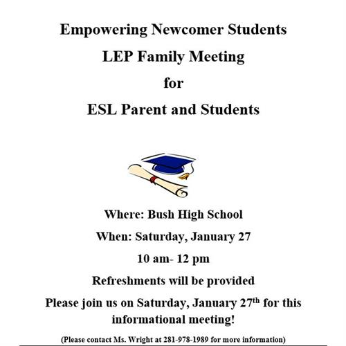 LEP Family Meeting