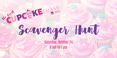The Great Cupcake Chase Scavenger Hunt