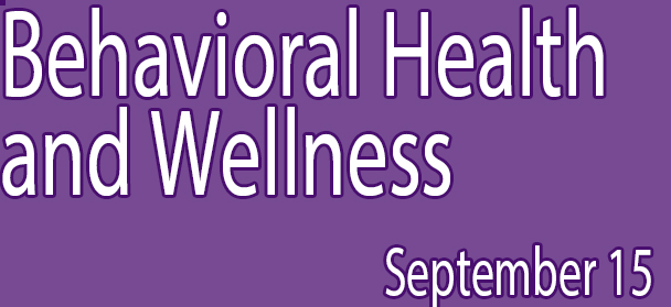 Behavioral Health and Wellness Department Webinar