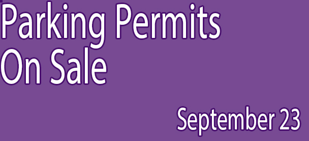 Parking Permits on Sale