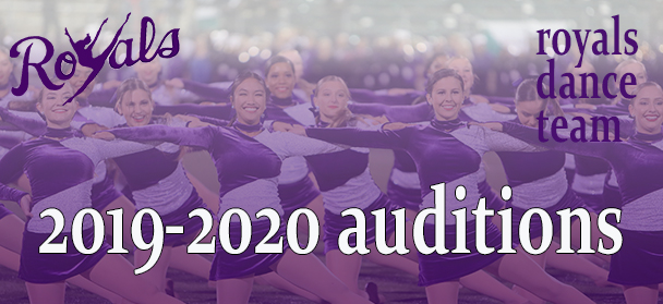 2019 Royals Dance Team Tryouts