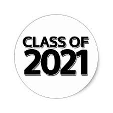 Image that states class of 2021
