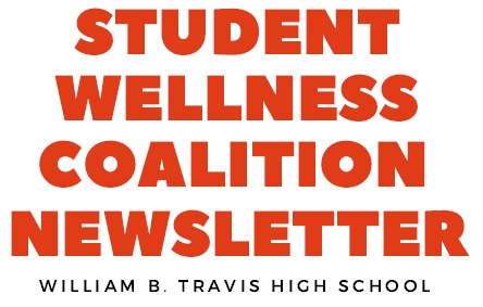 Image of the words Student Wellness Coalition Newsletter