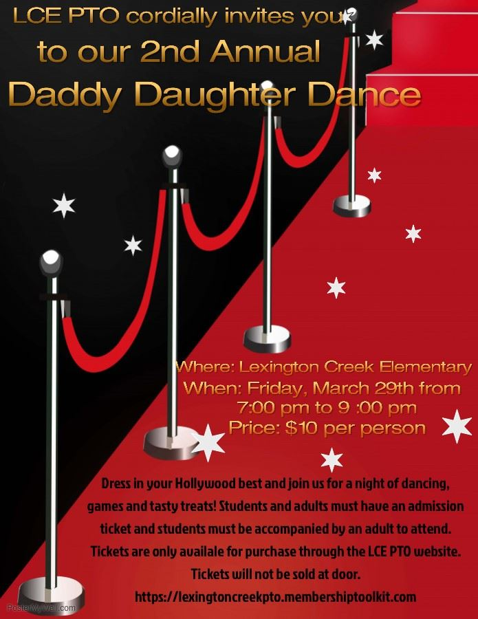 Daddy Daughter Dance - March 29, 2019