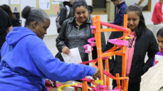 "Students, parents learn about Career and Technical Education (CTE) programs during ""Program Exploration Night"" (11/15/2018)"