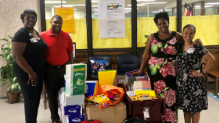 CHI St. Luke's Health helps prepare Blue Ridge Elementary students for school (8/13/2019)