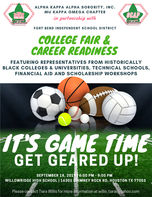 College Fair Career Readiness