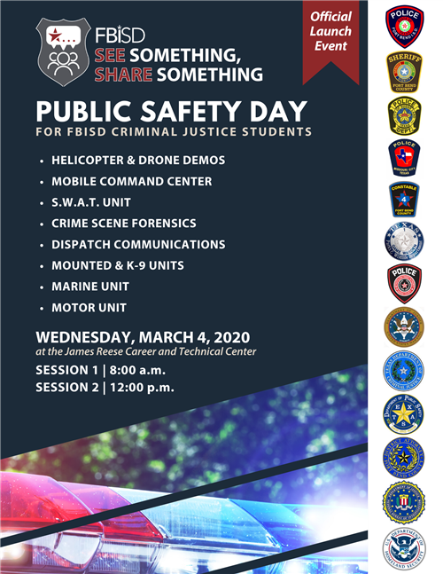 App Launch, Public Safety Day