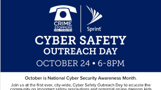 Fort Bend ISD Police Department and Crime Stoppers Host Cyber Safety Outreach Event, Oct. 24 (10/22/2019)