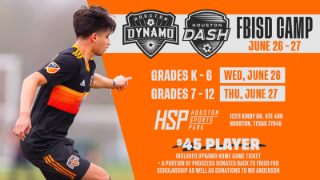 District students invited to attend FBISD Dynamo Dash Camp, June 26 and 27 (6/6/19)