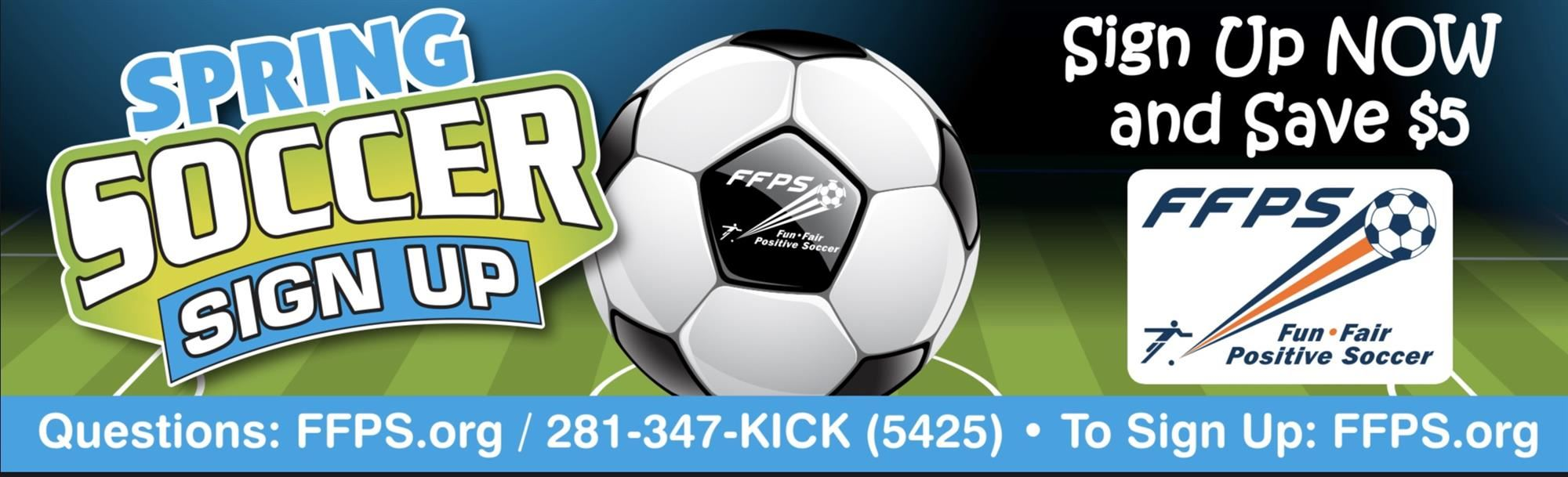 Paid Ad: FFPS Soccer
