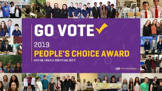Vote for Bush High School in 2019 People's Choice Award Program, Thurs., June 20; Voting takes place from 12 p.m. to 7 p.m. (6/13/19)