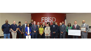 FBISD Receives Cenergistic Energy Stewardship Award
