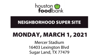 FBISD partners with Houston Food Bank for Neighborhood Super Site, March 1 (2/26/2021)
