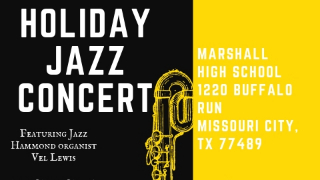 FBISD partners with F2F Music Foundation to present Holiday Jazz Concert, Dec. 9 (11/16/2018)