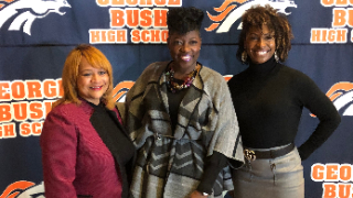 Bush High School has new tradition of honoring principals with star awards (11/19/2019)