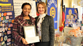 Jennifer Agu of Kempner High School named Exchange Club of Sugar Land's Youth of the Month (11/15/2018)