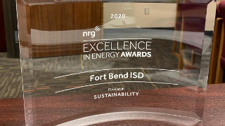 Fort Bend ISD recognized in energy industry awards (12/1/2020)