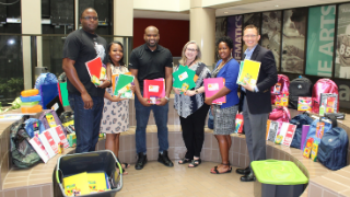 OptumRX and UnitedHealthcare donate school supplies to FBISD's Shared Dreams Program (8/15/2019)