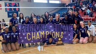 "Ridge Point High School ""Panthers"" volleyball team advances to state tournament (11/18/2019)"