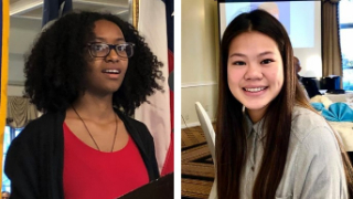 Two FBISD students honored as Sugar Land Exchange Club's Youth of the Month (1/17/19)