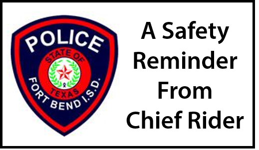 Read Chief Rider's safety message as we begin Year 2020  (1/17/2020)