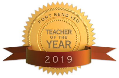 Fort Bend ISD announces Finalists in the 2019 District Teacher of the Year Program (2/15/2019)